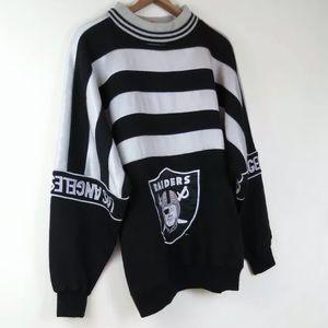 Vintage Raiders Starter pullover sweatshirt L